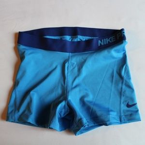 Nike Pro Dri-fit short blue